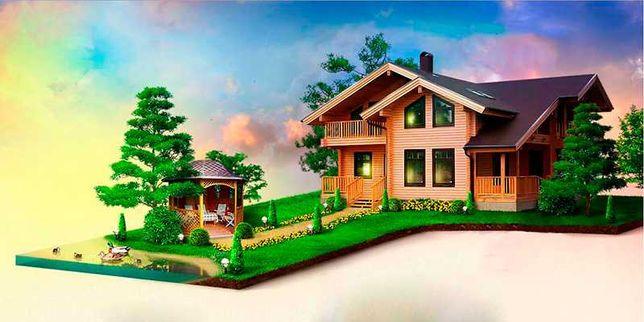 Строительство дома с нуля: заливка фундамента, кладка стен, кровля