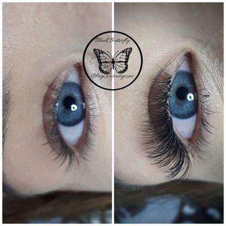 Przedłużanie rzęs od 1:1 do 7D Lifting/Laminacja rzęs i brwi, makijaż