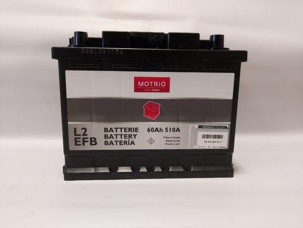 Akumulator MOTRIO EFB 12V 60Ah 510A
