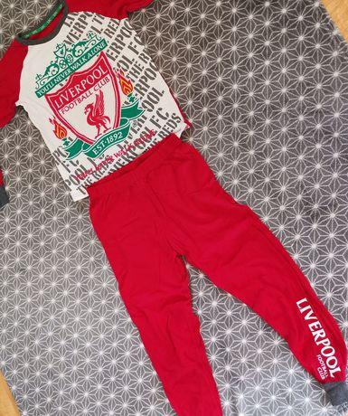 Piżama LFC Liverpool official product 9-10 lat piłka nożna 134 reds