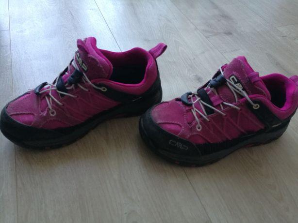 Buty trekkingowe CMP Kids Riegel low 32, rozowe