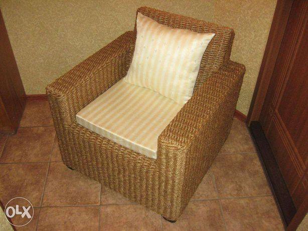 Новое плетеное кресло из манильского каната Ручная работа Кокосовое