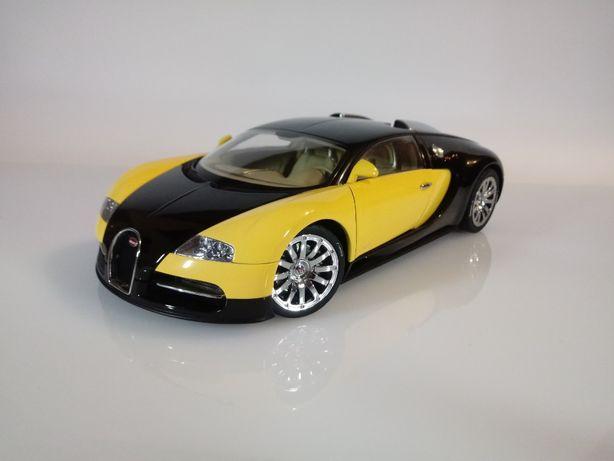Model 1/18 Bugatti EB 16.4 Veyron Autoart kolekcja