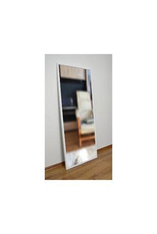 Duże piękne białe czarne lustro 1502 efekt pudełka 60x160