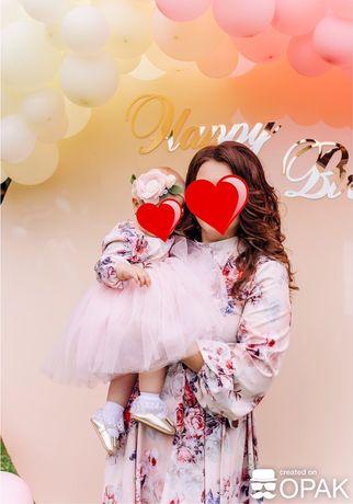 Family look (Фемили лук) платья мама+дочка!!!