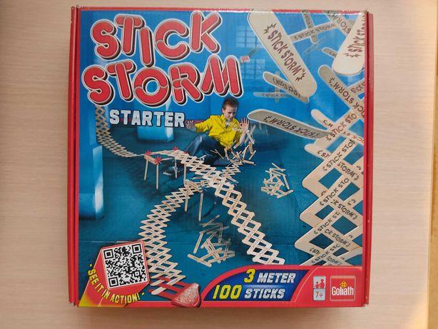 Gra układanka stick storm Nowa +gratis puzzle