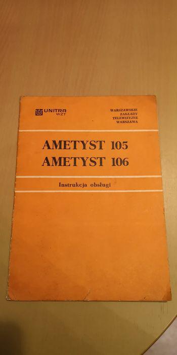 Instrukcja Ametyst 105 106 Bytom - image 1