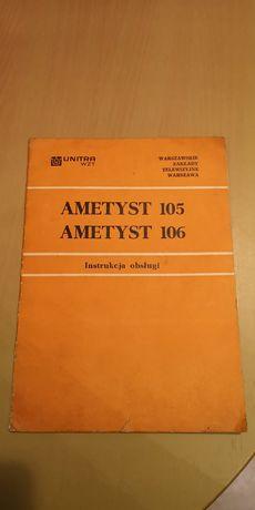 Instrukcja Ametyst 105 106