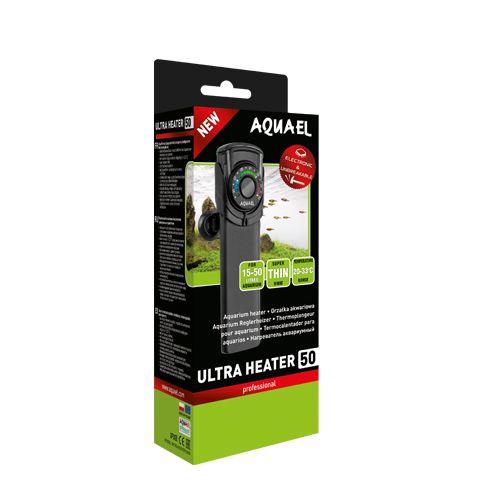 Aquael Grzałka Ultra Heater 50W Nie tłukąca się 2w1 Marki - image 1