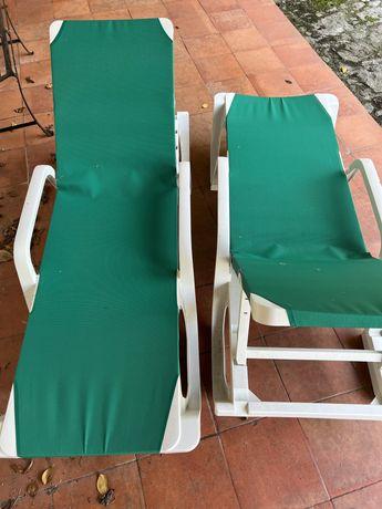 Cadeiras jardim espreguiçadeiras