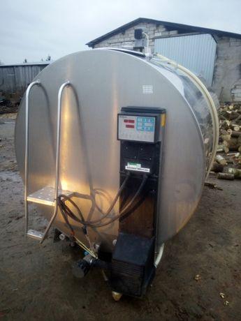 Schładzalnik chłodnia zbiornik do mleka Wedholms Eurotanks 5000l