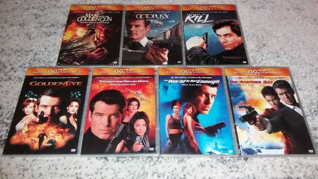 James Bond filmy na dvd
