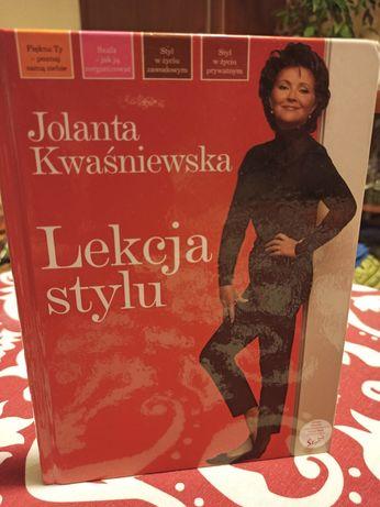 Lekcja stylu. Jolanta Kwaśniewska