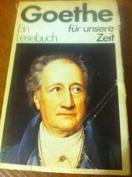 книга на немецком языке Гетте