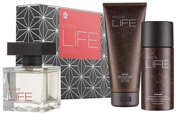Prenda Coffret Life for him by Kenzo, Avon, para homem