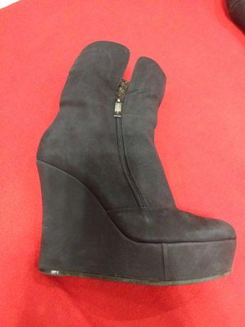 Супер стильні зимові черевики з нубуку