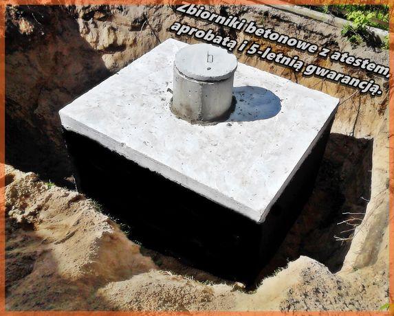 Zbiorniki Betonowe Szambo Deszczówka Gnojówka Gnojowica Piwniczka