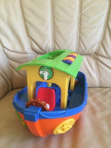 Zabawka interaktywna statek Arka Noego Dumel pianino odgłosy zwierząt