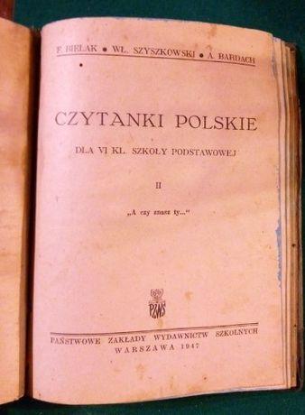 stary powojenny podręcznik - Czytanki Polskie 1946