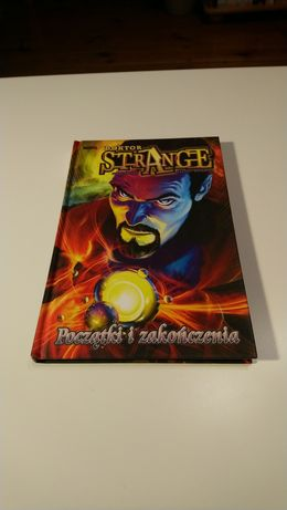 Doktor Strange Początki i zakończenia // komiks Marvel