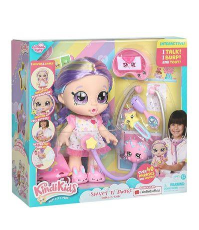 Кинди Кидс интерактивная кукла Kindi kids shiver доктор