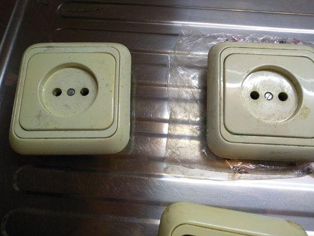 Розетки, выключатели