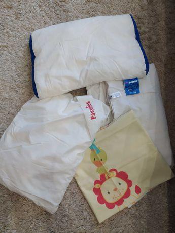 Одеяло пододеяльник подушки детские Mothercare