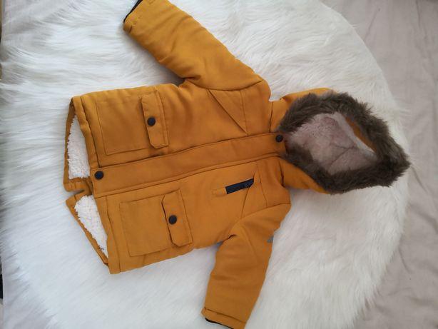 Zimowa kurtka niemowlęca nowa r. 86