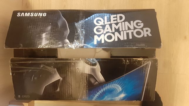 Monitor Samsung Qled 24 całe! Gaming