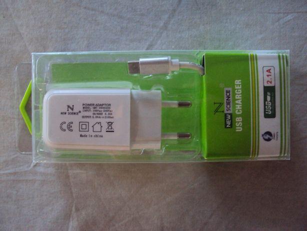 Carregador USB Type-C