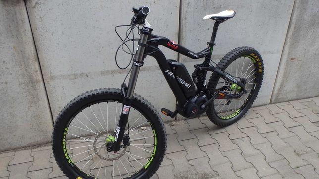 rower elektryczny haibike 180-180/bosch/boxxer/fox/okazja/nowy silnik