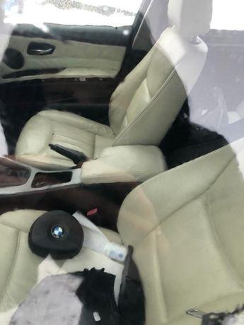 BMW E90 Komplet Skóry Fotele Kanapa Boczki Wysyłka CZĘŚĆI Bydgoszcz