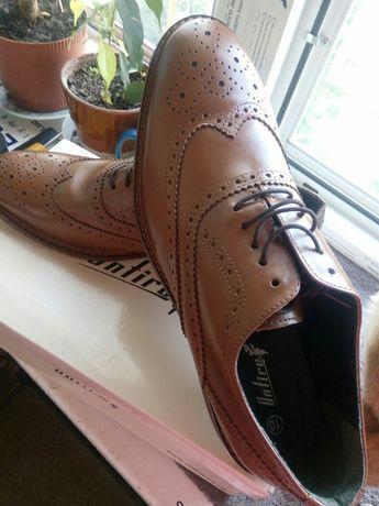 Мужские новые туфли 45р.
