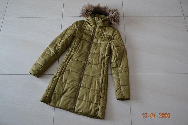 Zimowy płaszcz UMBRO oraz kurtka BRUGI / rozmiar S / Jak nowe