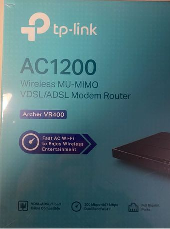 TP Link Ac 1200 - Router
