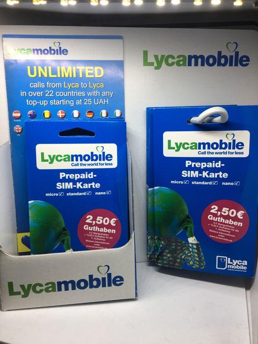 LycaMobile DE Niemcy SIM Starter Prepaid Card OVP Warszawa - image 1