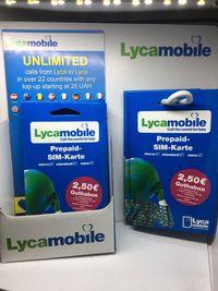 LycaMobile DE Niemcy SIM Starter Prepaid Card OVP