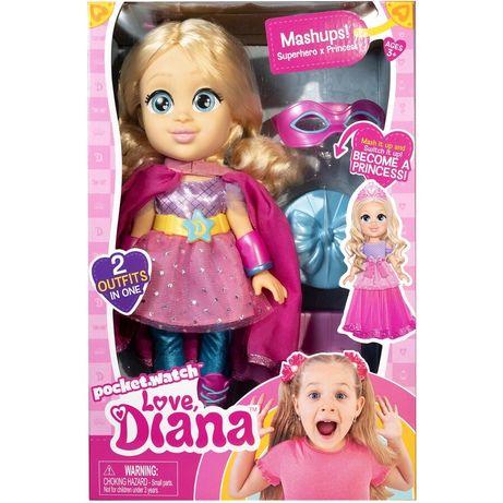 Кукла лялька Диана kids diana show  принцесса супер герой love diana