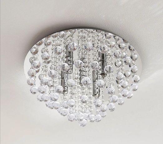 Żyrandol krysztalki kryształowy glamur