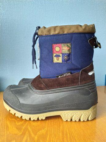 Зимние ботинки 32-33р.