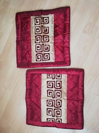 2 poszewki na poduszkę 40x40cm - Grecki wzór(wysyłka gratis)