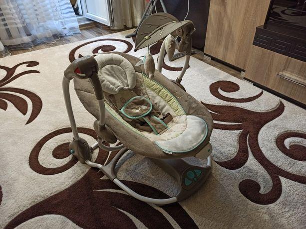 Качелька для новорожденных, укачивающий центр, качелька для детей