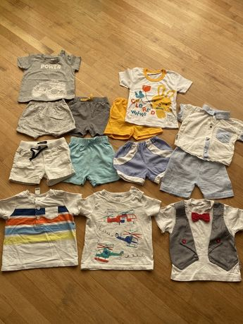 Шорти,футболки,джогери  nexr,george,HM,бодіки,сліпи