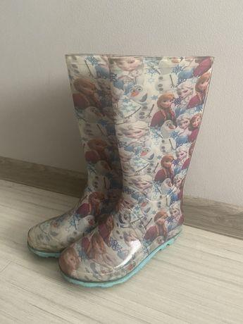 Резиновые сапожки с Эльзой и Анной 20,5 см