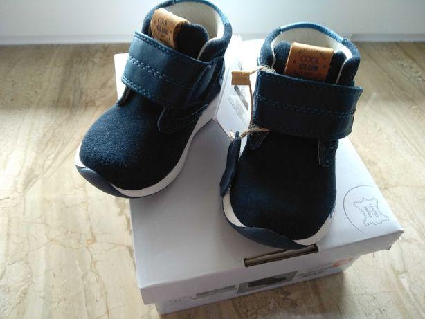 Buty skórzane dziecięce Cool Club rozmiar 20