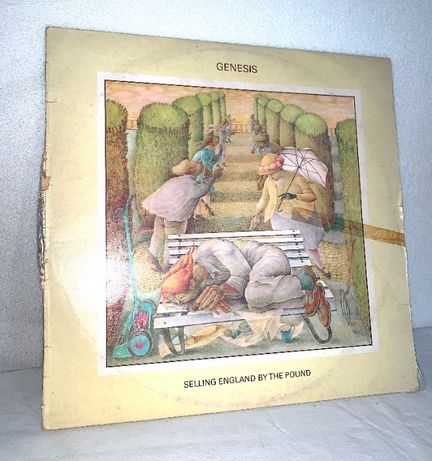 Genesis - Selling England by the Pound vinil LP 1973