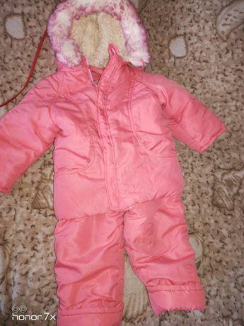 Комплект куртка зимняя+комбинезон (на овчине)