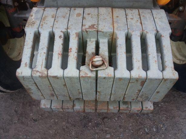 Obiążniki renault Zetor 500kg Forttera Claas Ares