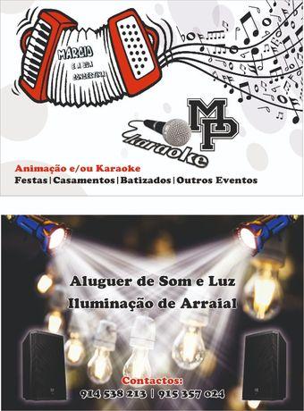 Som e Luz para Eventos - Iluminação de Arraial/Casamento/Festa/Igrejas