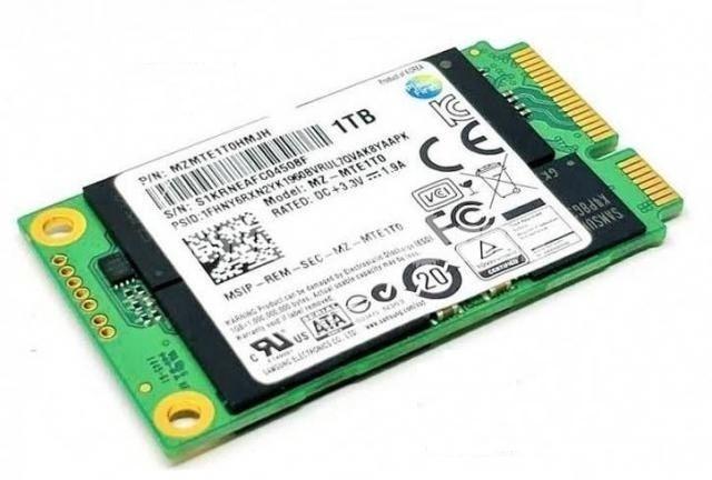 SSD накопитель mSATA 1TB/1024GB SAMSUNG